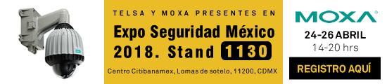 Telsa invita a Expo Seguridad México 2018, ¡Regístrate!
